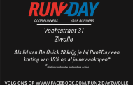 Sponsoraanbieding: korting bij Run2Day