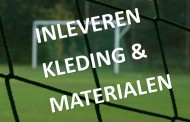 Leiders: kleding en materialen inleveren