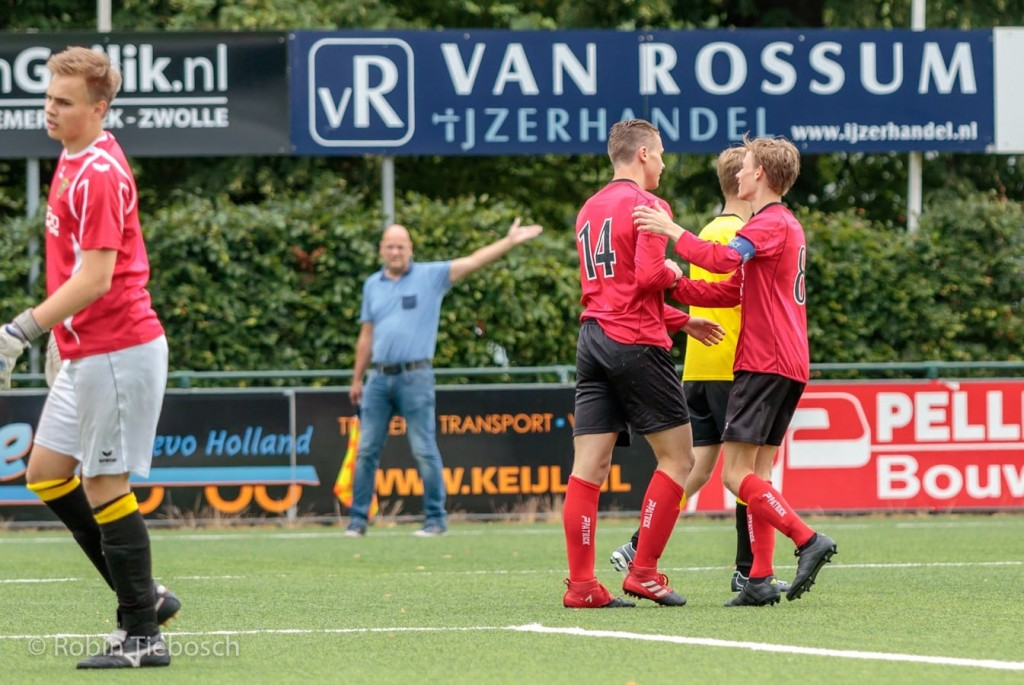 Drie teams Be Quick'28 in finale Colijn en Partners toernooi