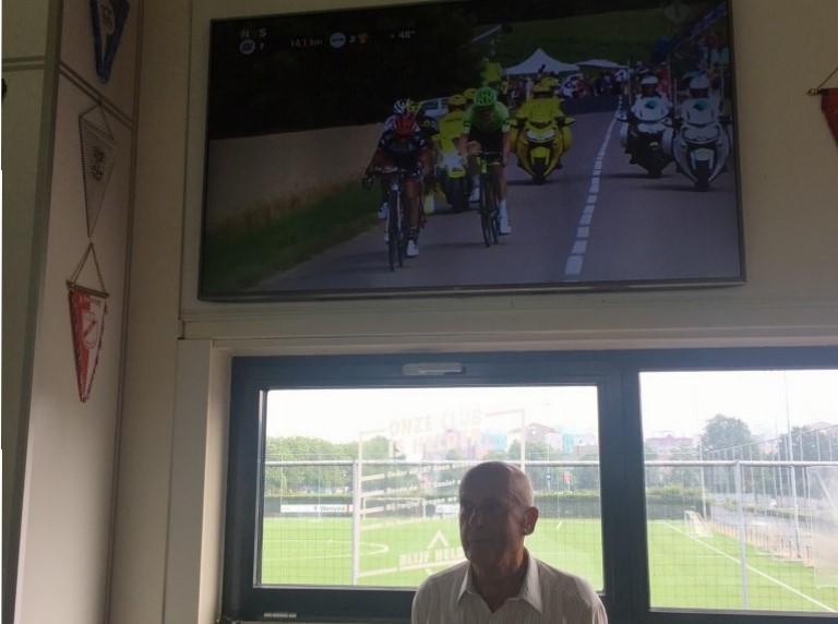 Ite Muller schenkt 55 inch TV aan Be Quick '28