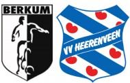 Berkum-Heerenveen zaterdag op veld van Be Quick