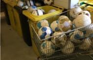 Oude ballen gratis af te halen