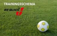 Trainingsschema 2017-2018 aangepast