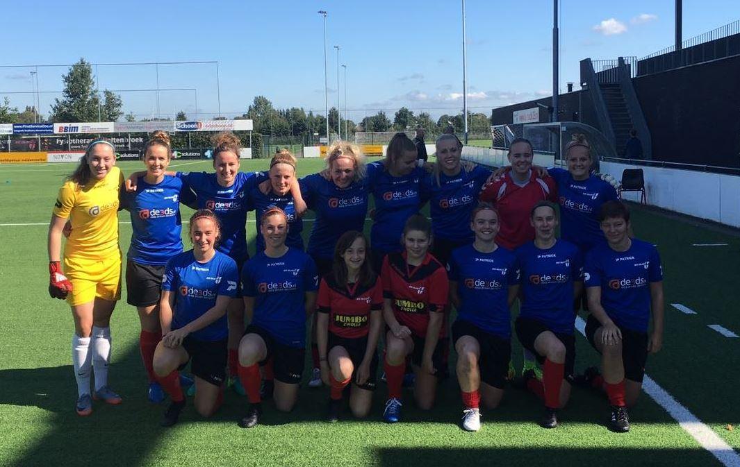 Vrouwen 1 wint eerste competitiewedstrijd