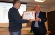Karel van Tongeren krijgt gouden KNVB-speld