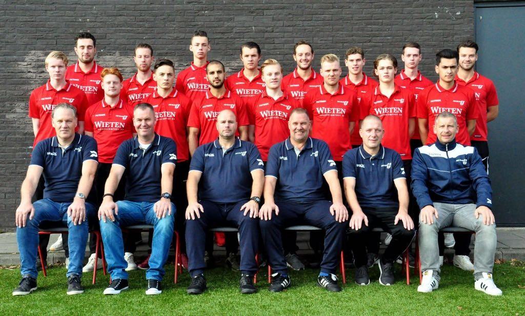 Teamfoto Heren2 2017-2018 Financiële Alliantie