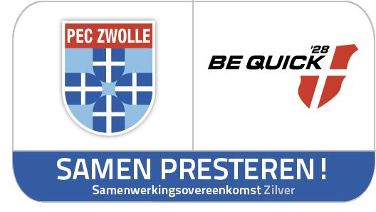 PEC Zwolle en Be Quick'28. Samen presteren.
