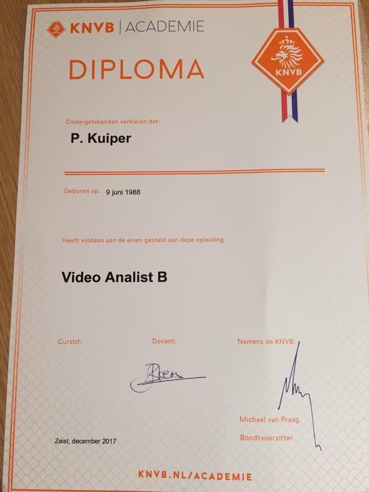Peter Kuiper videoanalist