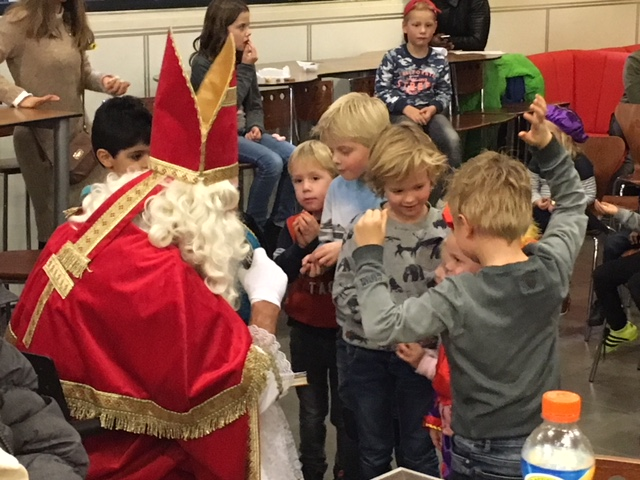 Sinterklaas bezocht Be Quick '28
