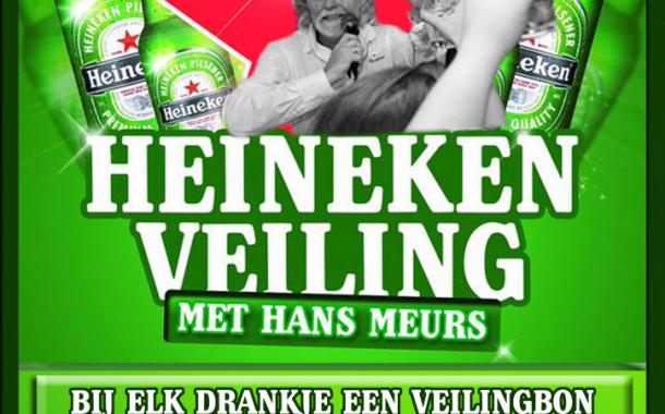 Heineken veiling tijdens Be Quick '28 - SVI
