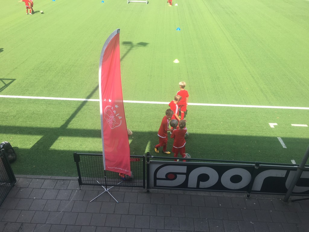 Ajax camp bij Be Quick '28