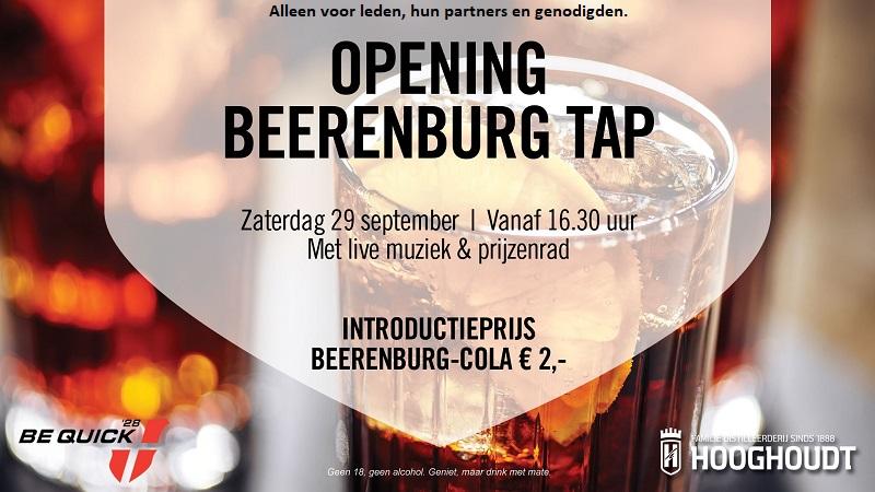Opening Beerenburg Tap