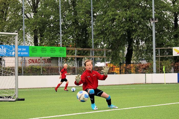 Len Bakker opgenomen in Knvb selectie O13-01 Zwolle/Steenwijk.