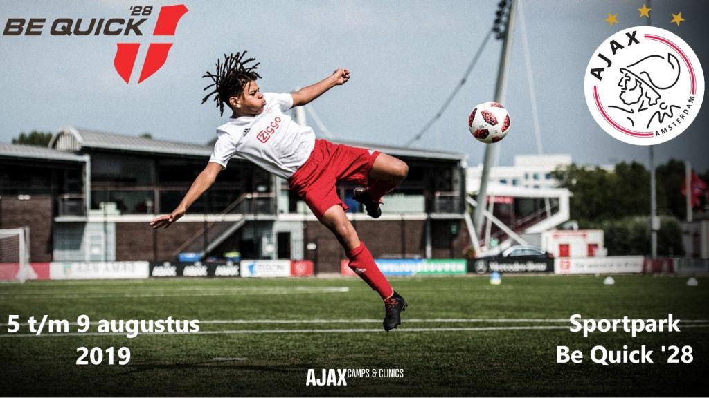 Ajax komt opnieuw naar Be Quick '28