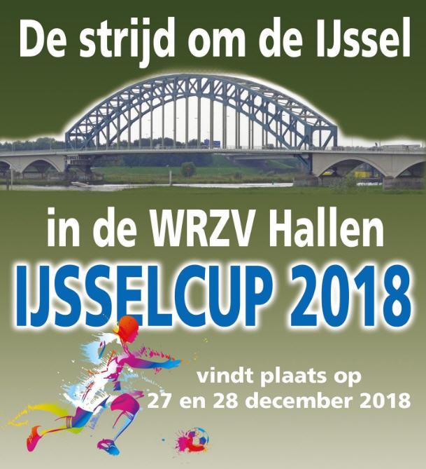 1e elftal doet mee aan de IJsselcup