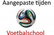 Voetbalschool woensdag 2 december