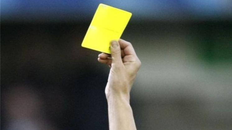 Ingangsdatum uitsluitingen bij gele kaarten