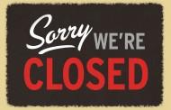 Accommodatie de komende weken gesloten (ook de kleedkamers)