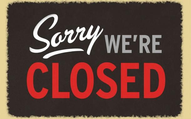 Kantine op dinsdag gesloten