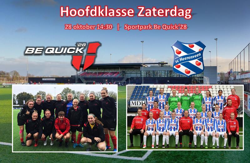 Vrouwen 1 speelt topper tegen Heerenveen