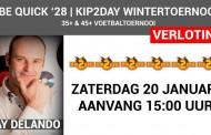 Kip2Day wintertoernooi bij Be Quick '28