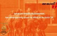 Be Quick uitgekozen door KNVB voor ontwikkelprogramma