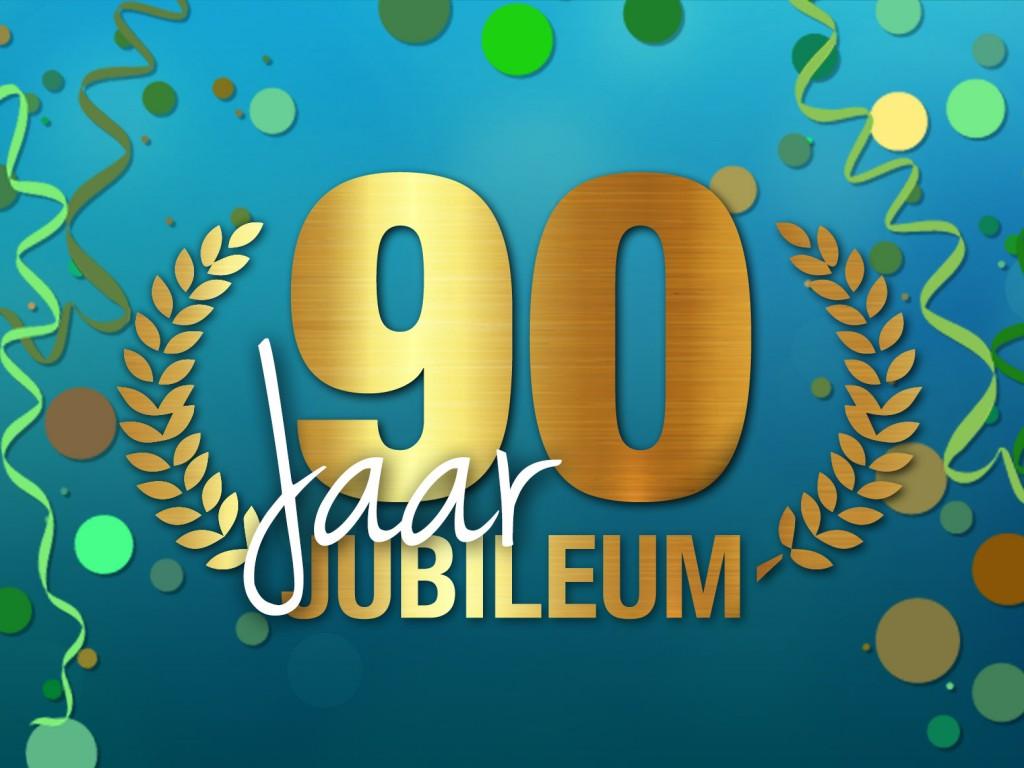 90 jarig jubileum weekend