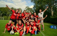 Vrouwen 4 wint oefenduel tegen Hoonhorst/Wythmen