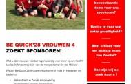 Vrouwen 4 zoekt sponsor