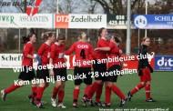 Sluit je aan bij dé vrouwenvoetbalclub in Zwolle!