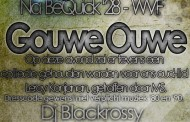 Gouwe Ouwe party in de kantine