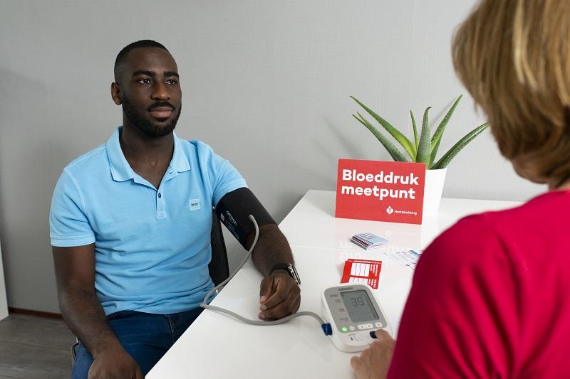 Bloeddrukmeetpunt van de Hartstichting op 8 juni bij Be Quick