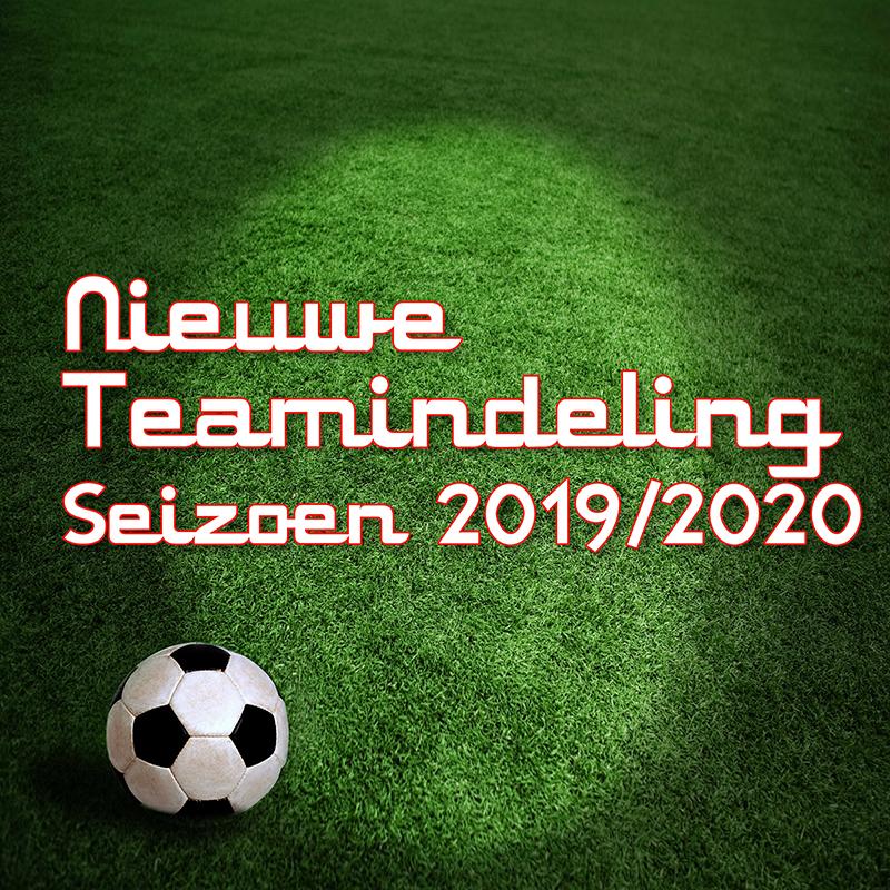 Indeling 2019-2020 - UPDATE