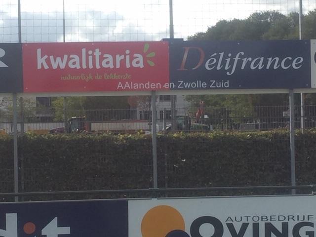 Nieuwe sponsor: Kwalitaria Délifrance