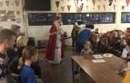 Drukte bij Sinterklaas