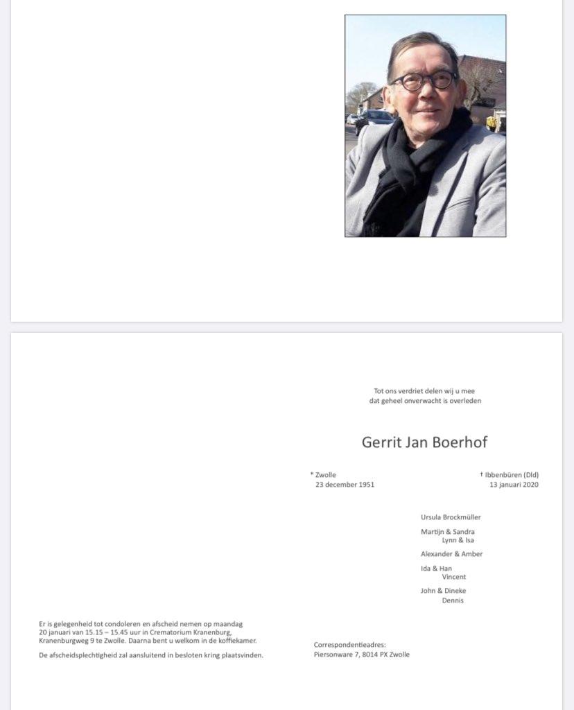 Gerrit Jan Boerhof