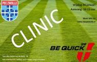 Clinic voor alle meiden van Be Quick '28