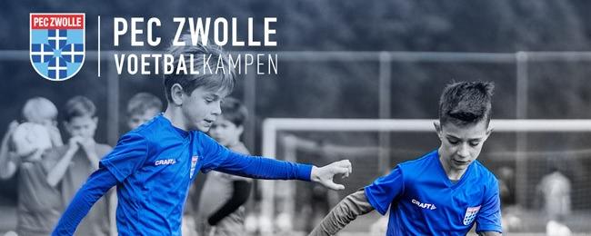 PEC Zwolle Voetbalkamp in de schoolvakantie