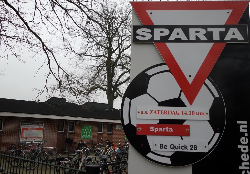 Be Quick  verliest op momenten van Sparta Enschede