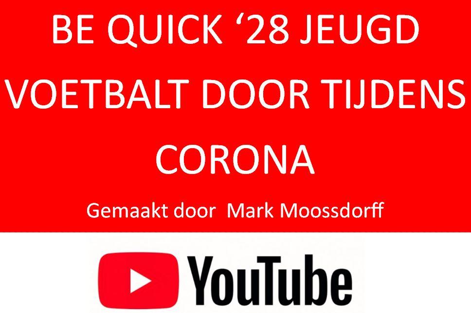 Be Quick '28 jeugd voetbalt door tijdens Corona