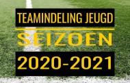 Voorlopige teamindelingen 2020-2021 - ALLE JEUGDTEAMS NU BEKEND