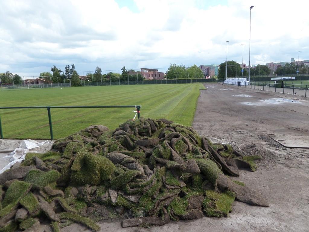 Op veld 5  zal de selectie van Pec Zwolle gaan trainen.
