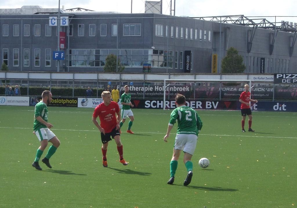 Owios werd thuis met 3-1 verslagen.