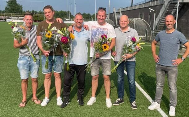 Afscheid trainersstaf tweede elftal