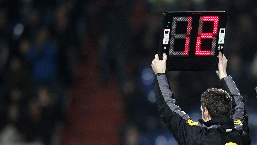 Meer wissels toegestaan in het amateurvoetbal